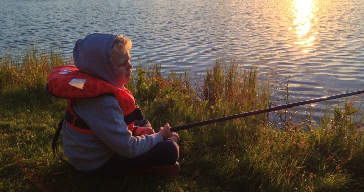 Fiske i Verkasjön